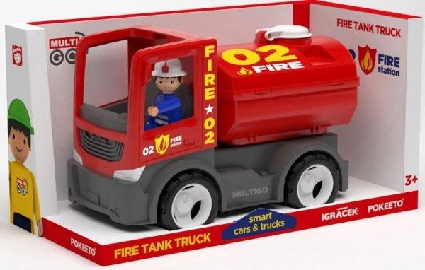 Multigo Fire cysterna ze strażakiem IGRACEK