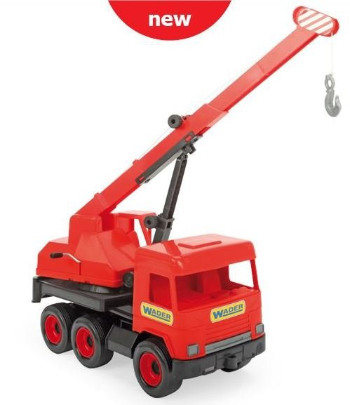 Middle Truck dźwig w red kartonie Wader 32112
