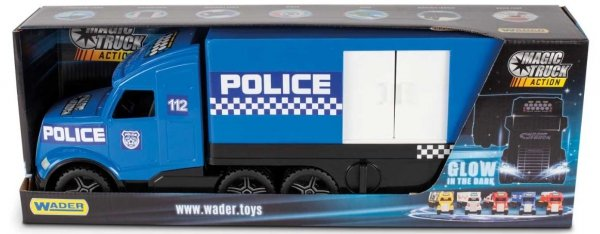 Magic Truck Action policja  Wader 36200