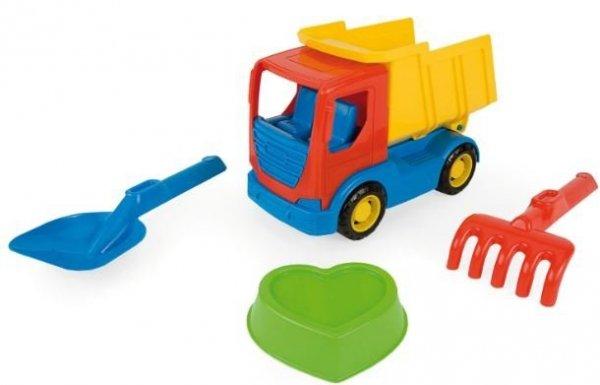 Tech Truck auta z akcesoriami do piasku