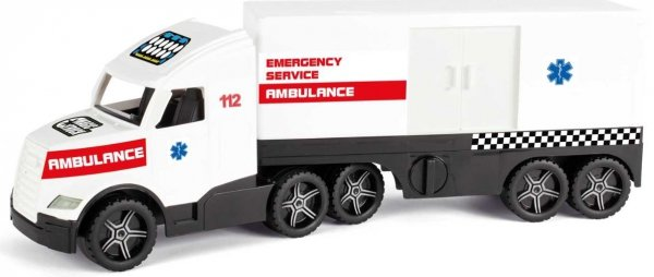 Wader 36210 Magic Truck ACTION - Ambulans