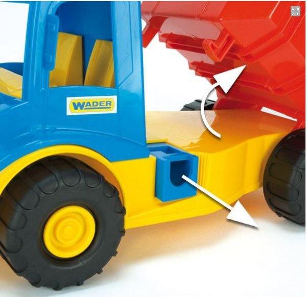 Wader Multi Truck z klockami - 32330