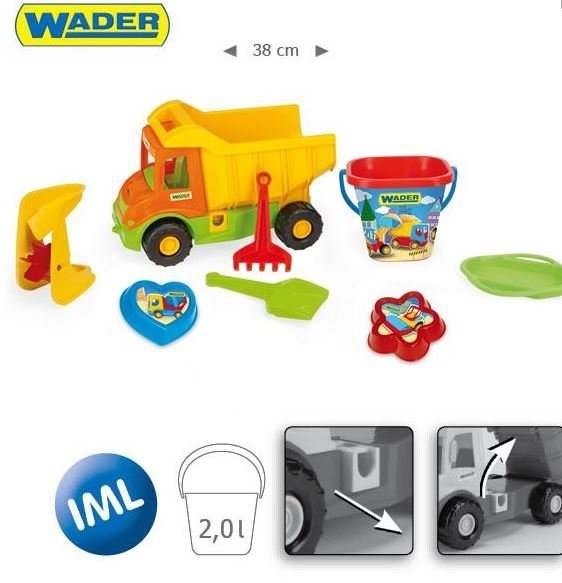Wywrotka Multi Truck z kpl. letnim - WADER 70340