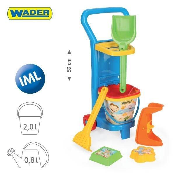 Wader- 10771 wózek plażowicza