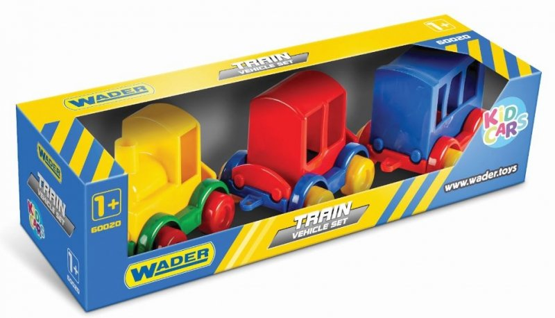 Kid Cars zestaw POCIĄG WADER 60020