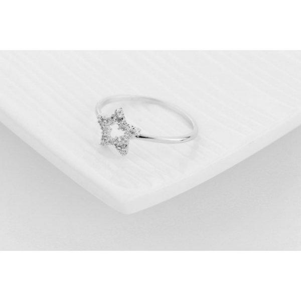 PIERŚCIONEK KRYSZTAŁKI STAL CHIRURGICZNA 473, Rozmiar pierścionków: US7 EU14