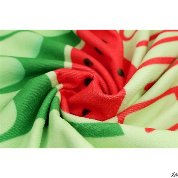 RĘCZNIK PLAŻOWY 170x90 Zielony Arbuz REC46WZ8