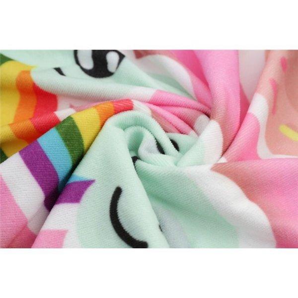 Ręcznik plażowy prostokątny mały 150x70 Ananas REC45WZ3