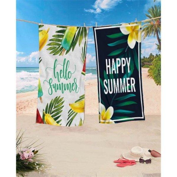 Ręcznik plażowy prostokątny mały 150x70 Colors Arbuzy REC45WZ7