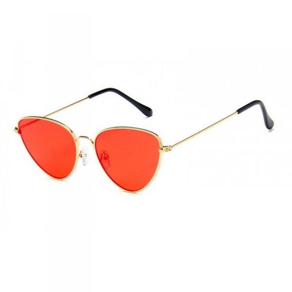 Okulary przeciwsłoneczne OVL kocie pomarańcz OK179WZ4