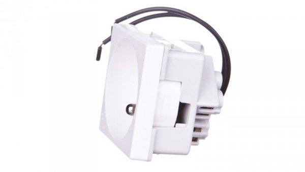 Simon Connect Gniazdo K45 pojedyncze z/u 16A IP20 ze wskaźnikiem zasilania czysta biel KL02/9