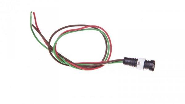 Lampka sygnalizacyjna 5mm czerwono-zielony 12-24V AC/DC KLP 5GR/24V 84405015