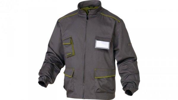 Bluza Panostyle z poliestru i bawełny szaro-zielona XL M6VESGRXG