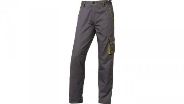 Spodnie Panostyle z poliestru i bawełny szaro-zielone rozmiar MM6PANGRTM