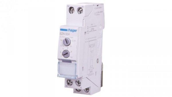 Przekaźnik czasowy 1P 8A 0,1sek-10h 12-230V AC/12-48V DC załączenie na czas T po podaniu impulsu EZN004