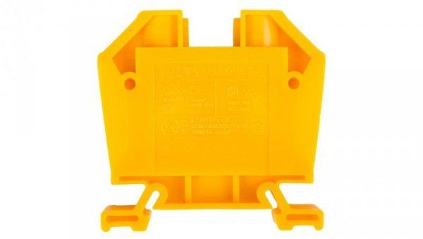 Złączka szynowa gwintowa ZSG ( ZUG ) 16/25mm2 żółty 43403N /25szt./