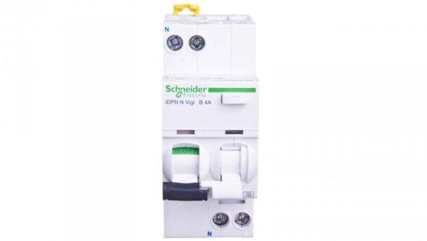 Wyłącznik różnicowo-nadprądowy 2P 4A B 0,03A typ A iDPN N VIGI A9D56604