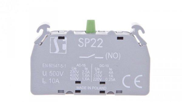 Styk pomocniczy 1Z montaż czołowy SP2210-2