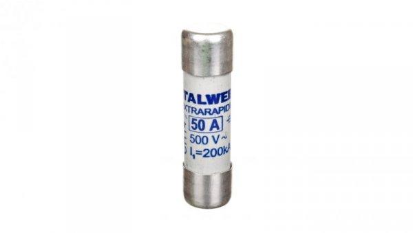 Wkładka bezpiecznikowa cylindryczna 14x51mm 50A aR 690V CH14UQ 002635019