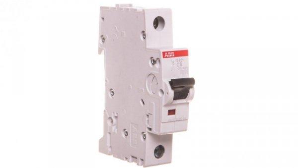 Wyłącznik nadprądowy 1P C 6A 6kA AC S201-C6 2CDS251001R0064