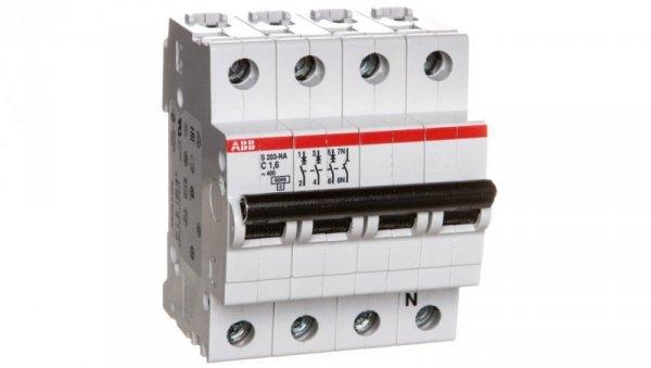 Wyłącznik nadprądowy 3P C 1,6A 6kA AC S203-C1,6 NA 2CDS253103R0974