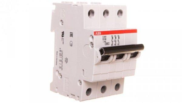 Wyłącznik nadprądowy 3P D 50A 6kA AC S203-D50 2CDS253001R0501