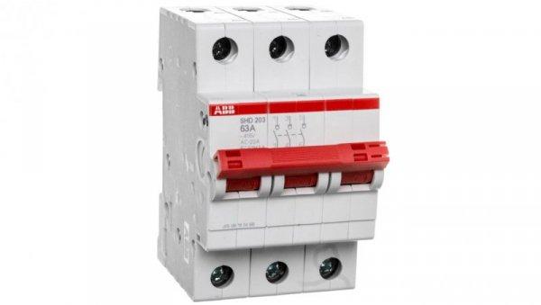 Rozłącznik modułowy 63A 3P SHD203/63 2CDD273111R0063