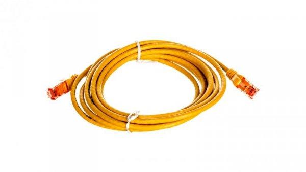 Kabel krosowy (Patch Cord) U/UTP kat.6 żółty 3m DK-1612-030/Y