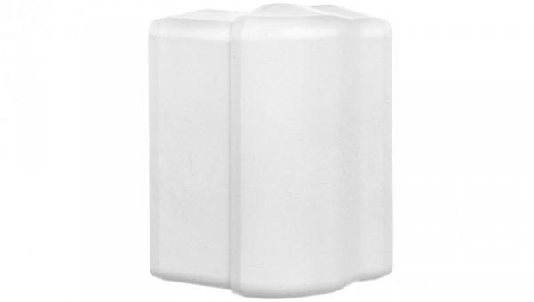 Pokrywa narożna zewnętrzna EKD 100x40mm biała 8516