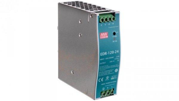 Zasilacz impulsowy 24VDC 5A 120W EDR-120-24