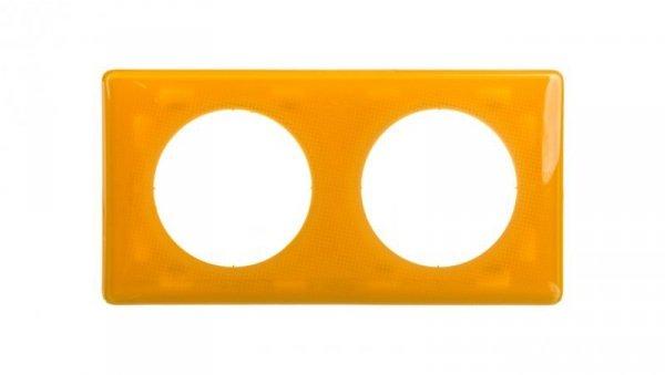 CELIANE Ramka podwójna uniwersalna żółta 066672