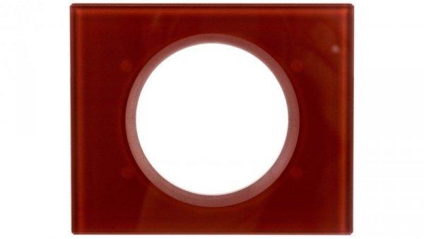 CELIANE Ramka pojedyncza uniwersalna szkło karmin 069471