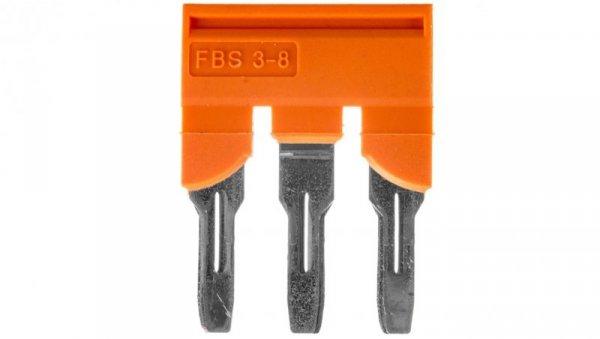 Mostek wtykany 3-biegunowy 8,2mm pomarańczowy FBS 3-8 CT 3033831 /10szt./