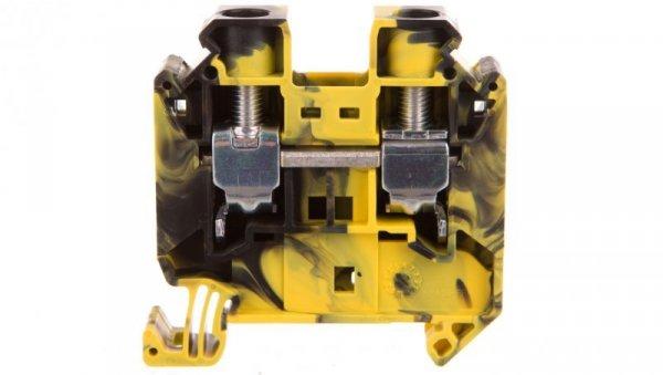 Złączka szynowa 2-przewodowa 16mm2 czarno-żółta UT 16-FE 3047663 /50szt./