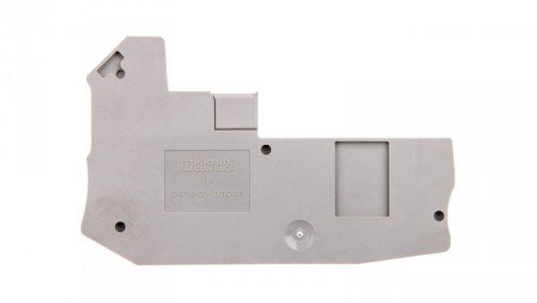 Pokrywa zamykająca szara D-UT 6-QUATTRO/2P 3060607 /50szt./