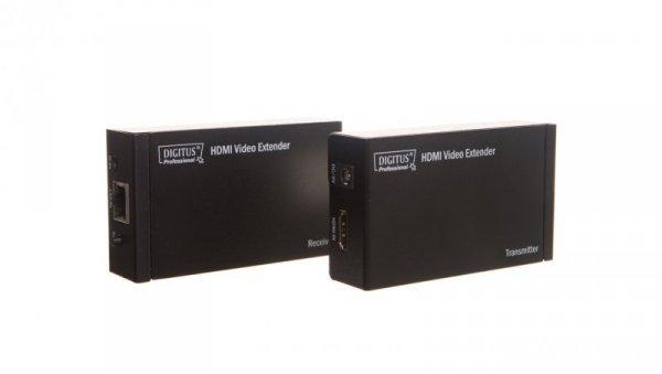 Przedłużacz/extender HDMI Full HD, 3D po skrętce kat.5e UTP, do 100m ze sterowaniem IR DS-55120