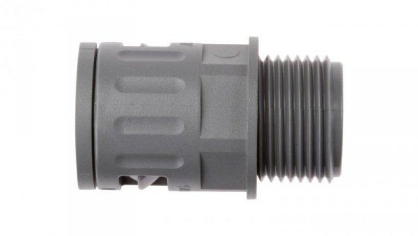 Dławnica do węża osłonowego M20 IP68 SILVYN KLICK-GM 20x1,5/1 szara 55501040