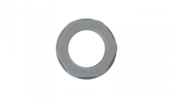 Nakrętka poliamidowa M16 SKINTOP GMP-GL-M 16x1,5 ciemnoszara 53119010 /100szt./