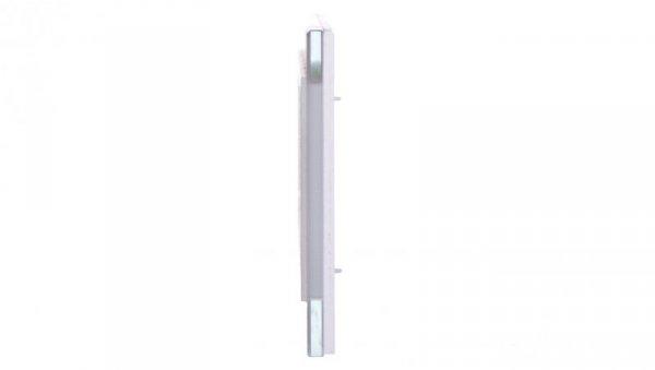 Simon 82 Ramka poczwórna pozioma szklana/ ramka pośrednia biała 82647-30