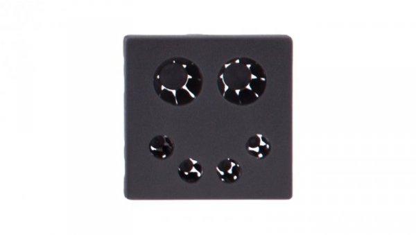 Simon Connect Pokrywa K45 wpustu kabla bezpośrednia szary grafit K20/14