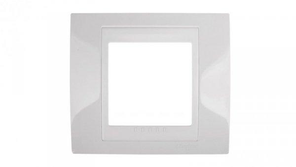 Unica Plus Ramka pojedyncza biel polarna MGU6.002.18