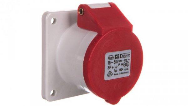 Gniazdo tablicowe proste 16A 4P tablicowe IP44  1324