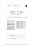 ulotka A6 składana do A7, druk pełnokolorowy obustronny 4+4, na papierze kredowym, 130 g, 1000 sztuk ! Cena promocyjna