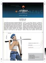 Dyplomy / licencje - 297 x 210 mm, druk jednostronny pełnokolorowy 4+0, satyna 300g - 300 sztuk