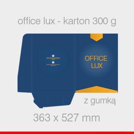 Office lux z gumką