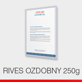 Dyplomy - rives 250 g