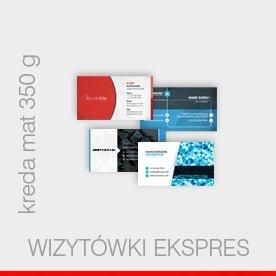 wizytówki expres - kreda 350 g