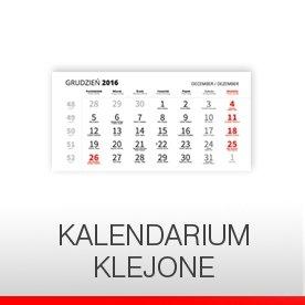 KALENDARIUM (BLOKI KLEJONE)