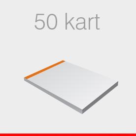 notesy 50 kart