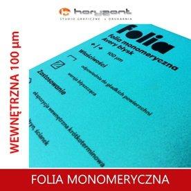 FOLIA MONOMERYCZNA 100